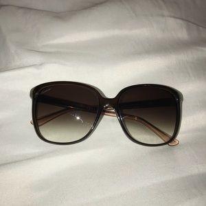 Authentic Ombré Gucci Sunglasses